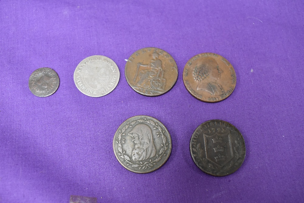 An album of GB Tokens mainly copper and bronze, approx 78 tokens, most in good condition, along with - Image 3 of 18