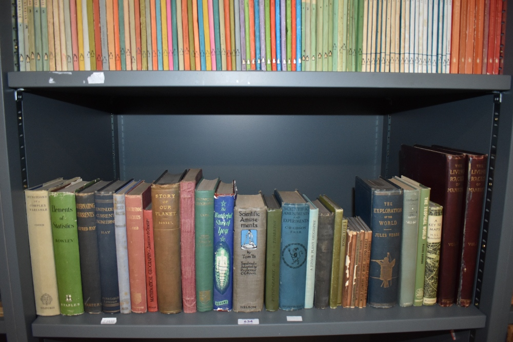 Science and the Natural World. A selection of late 19th and early 20th century monographs. Condition