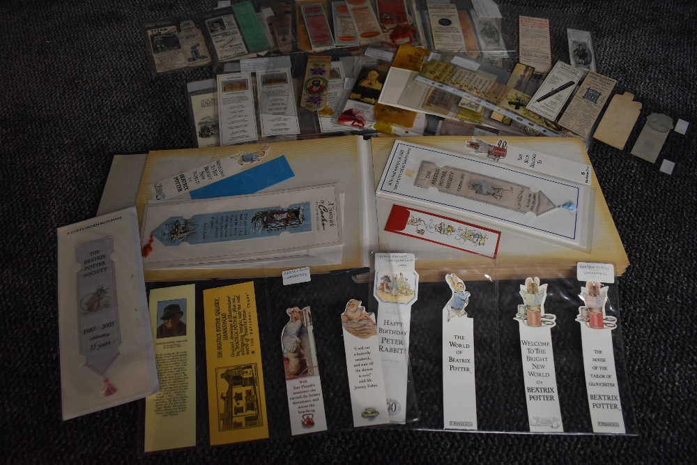 Bookmarks. A private collection. Approx. 1000+ bookmarks in varying sizes and formats, dates range - Image 4 of 4