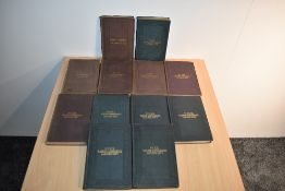 Railways. Slaughter, Mihill - Railway Intelligence. Nos. 9-20. 1856-1879. Original cloth,
