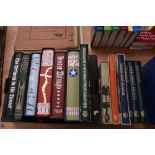 Folio Society. A selection. Includes; Catch 22 (2005); The Name of the Rose (2004); At the Back of