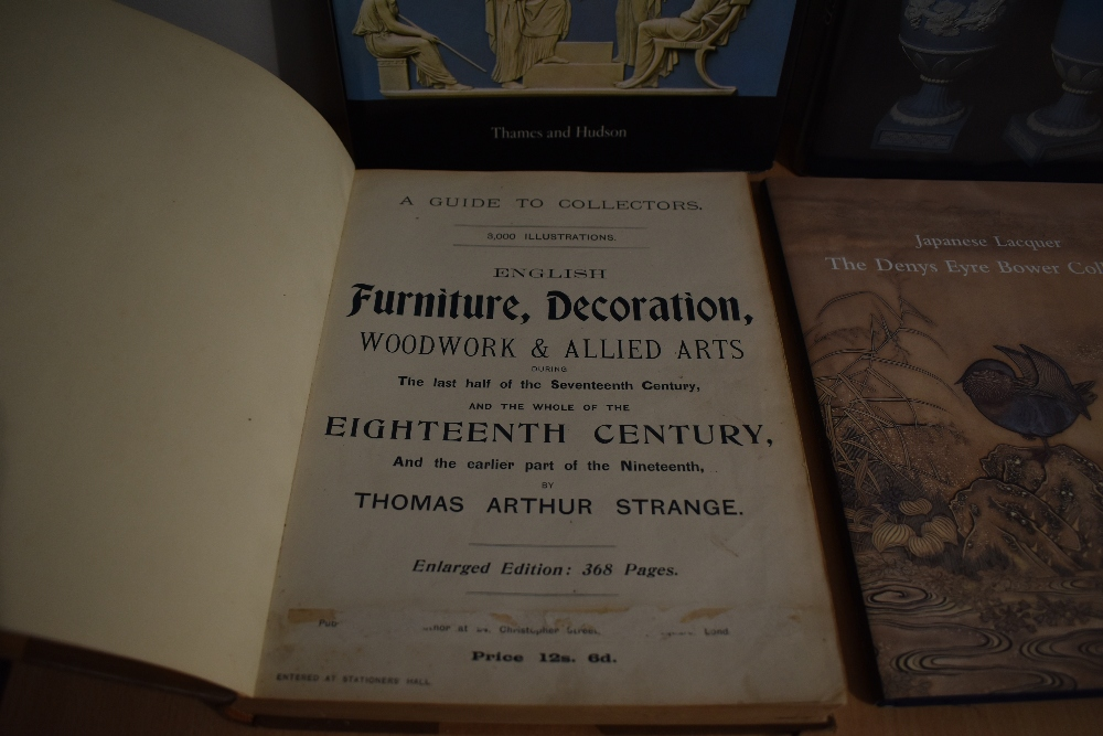 Antiques and Applied Art. Includes; Strange, Thomas Arthur - English Furniture, Decoration, Woodwork - Image 2 of 2