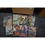 Military History and related. A carton. Includes; Churchill's Second World War (1948, US edition);