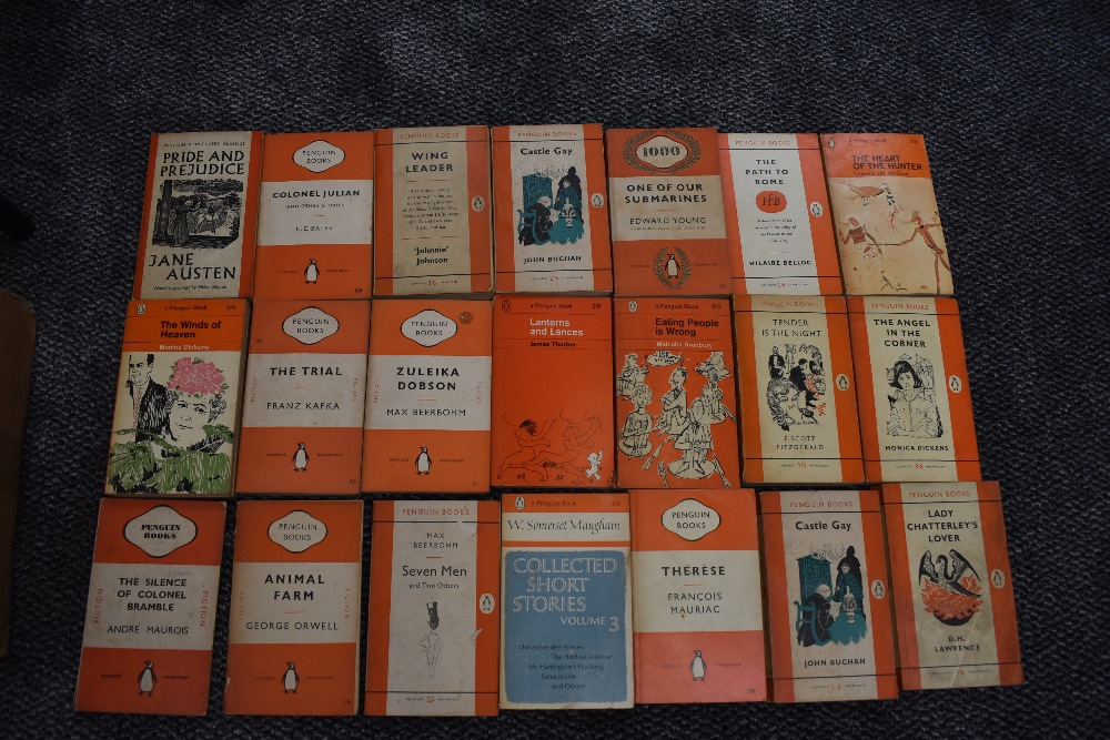 Penguin Books. A carton. Mainly Fiction. (64) - Image 2 of 3