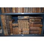 Antiquarian Miscellany. A large selection. Includes; volumes 8-13 of Smollett's - History of England