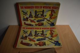 Children's. Two copies of - The Mammoth Book of Working Models. Published by Odhams Press Ltd. Circa
