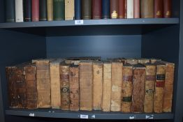 Antiquarian. The Annual Register. A large selection. A few late 18th century editions, majority