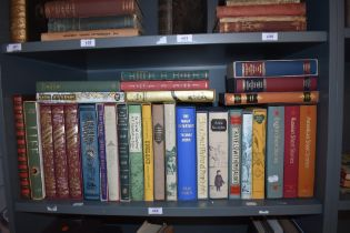Folio Society. Miscellany, majority with slipcases. Non-Fiction and Fiction. A couple of slipcases