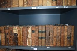 Antiquarian. Gentleman's and European Magazine. A large selection. Miscellaneous dates approx.