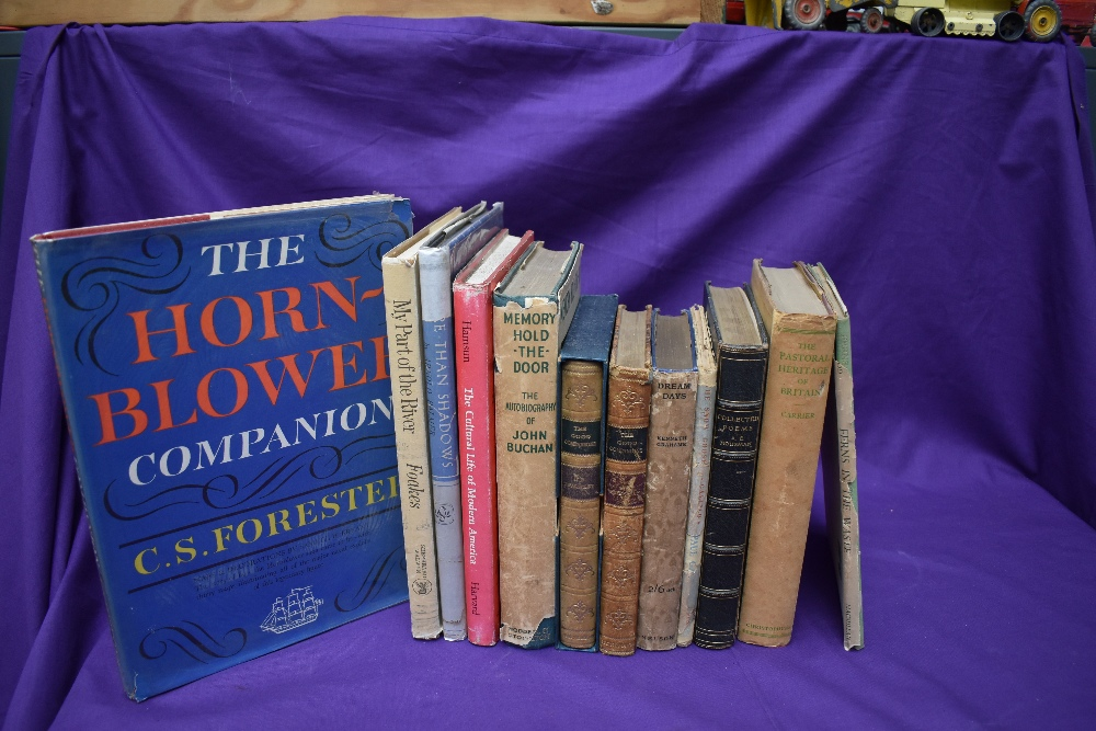 Literature and Poetry. A small selection. Includes; Housman, A. E. - The Collected Poems. (1939)