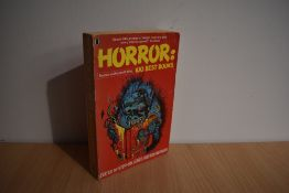 Signed Literature. Jones, Stephen & Newman, Kim (eds.) - Horror: 100 Best Books. 1992, revised and