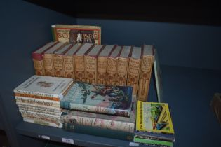 Children's. A selection. Includes; Gresham's Children's Library series in dust wrappers; Biggles