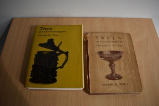 Antiques - Treen. Two works by Edward H. Pinto; Treen or small woodware (1949) & Treen and other