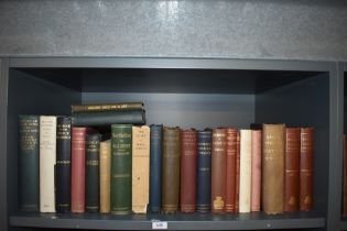 Economics and Financial History. A shelf. Includes; Smith's Wealth of Nations - the 1863 single