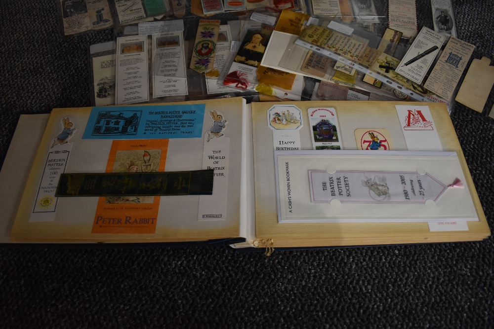 Bookmarks. A private collection. Approx. 1000+ bookmarks in varying sizes and formats, dates range - Image 3 of 4