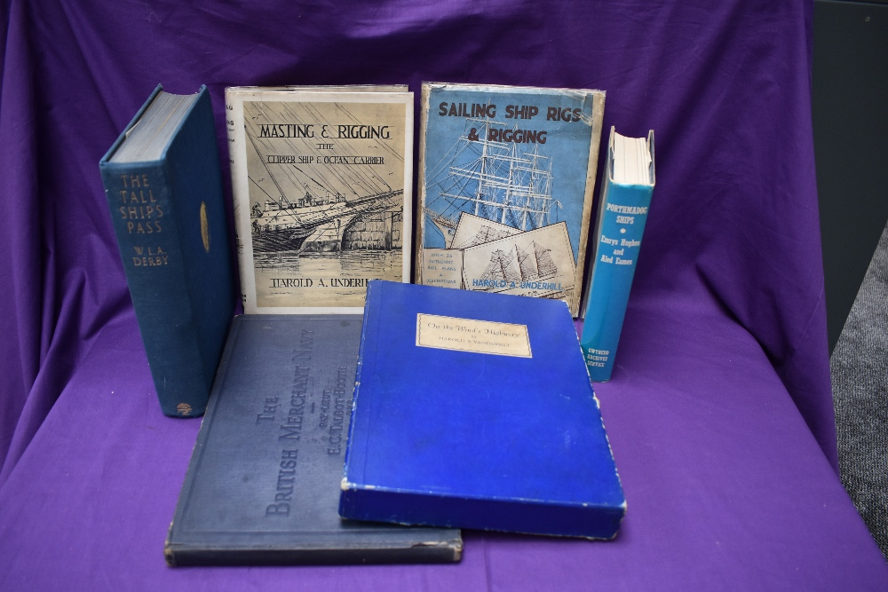 Maritime and related. Harold A. Underhill - Sailing Ships Rigs & Rigging (1938) & Masting &