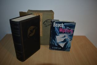 Literature. Elias, Frank - Beach Mystery. London: Lutterworth Press, 1946. In dust wrapper. With;