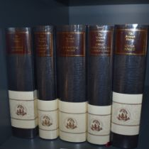 The Nonesuch Dickens. Five volumes from the twenty-four volume series. Comprising; Great
