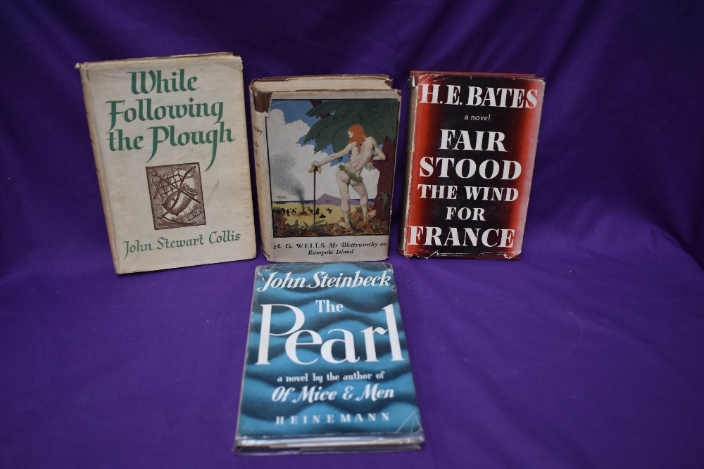 Literature. Dust wrapper selection. Includes; Steinbeck, John - The Pearl (1948); Bates, H. E. -