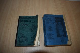 Children's. Baden-Powell - Boys' Edition: Scouting for Boys. 1937 reprint. Softback format, re-