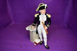 A Royal Doulton Figurine, The Captain HN2260