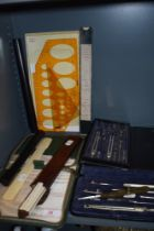 A good selection of stationary and geometry sets including A G Thornton
