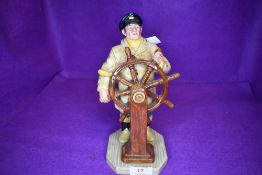 A Royal Doulton Figurine, The Helmsman HN2499
