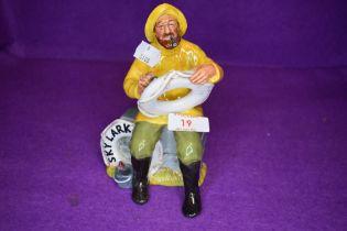 A Royal Doulton Figurine, The Boatman HN2417