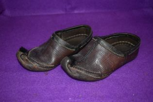 A pair of vintage Turkish slippers