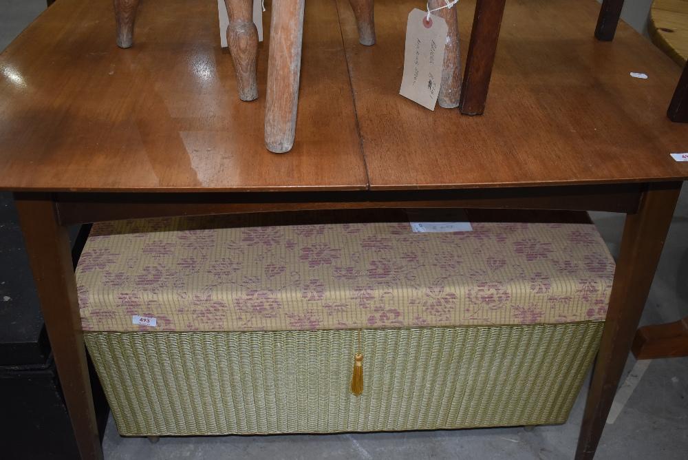 A vintage sapele dining table