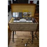 a vintage 1960's reel to reel tape player by Carousel