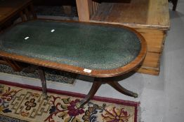 A reproduction Regency style coffee table