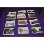 A collection of mainly Black & White Vintage Photograph Postcards, Barrow and surrounding area,
