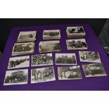A collection of mainly Black & White Vintage Photograph Postcards of Barrow and surrounding area,