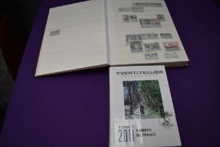 A large Stock Book of French Stamps, 1960's to 1990 including French Colonies, mainly used along