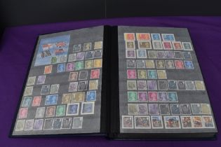 An Stock Book containing modern GB Mint Stamps