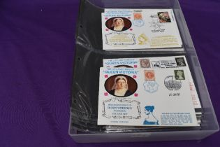 A collection of The Life And Times Of Queen Victoria Commemorative Covers including Victoria Cross