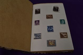 A Stamp Album containing German mint & used Stamps, 1930's and 1940's