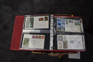 A box of GB First Day Covers, mainly 1960's, 70's and 80's