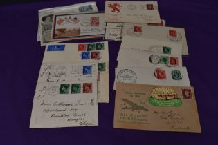 A small collection of mainly Edward VIII and George VI Covers including two Edward VIII Wedding Day,