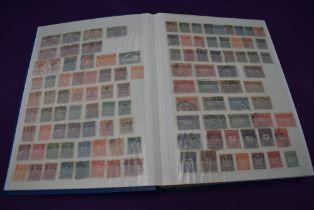 A large Stock Book containing German Stamps, mint and used, 1872 to 1991 including a small