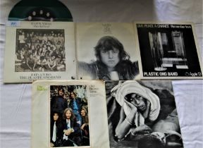 A lot of Beatles / Apple related seven inch singles - the George Harrison ' Bangladesh ' and the