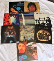 A nice album lot of Paul McCartney and Wings
