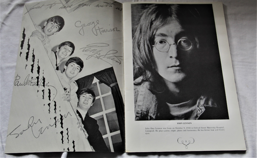 A copy of the hard to find official Apple Records Beatles press book ' the Apple office present ' - Image 2 of 5