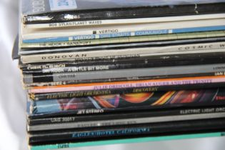 A lot of twenty various rock / pop albums - all in generally VG+ condition