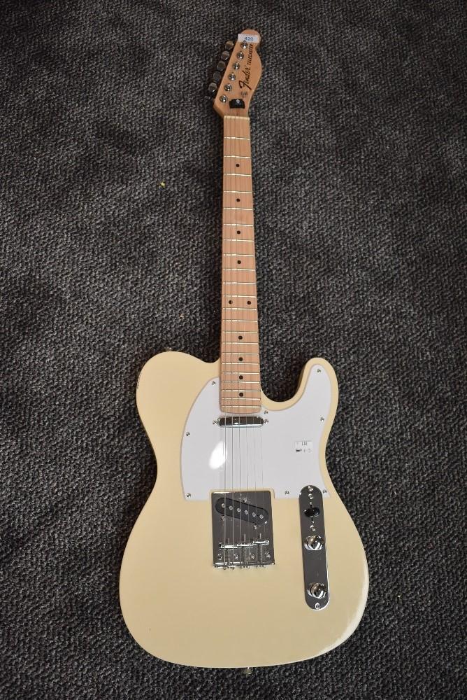 A Telecaster copy electric guitar (NOT FENDER!)