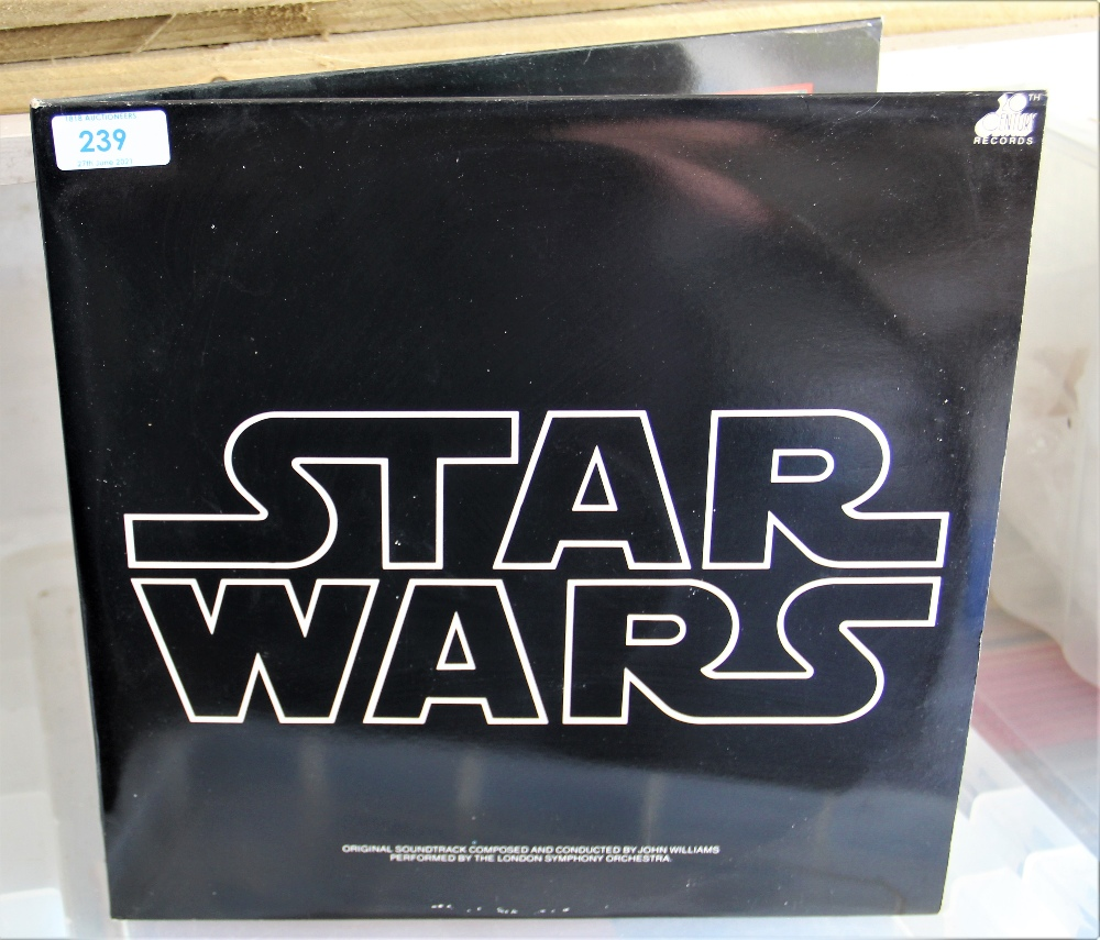 A Star Wars soundtrack with all inners / poster etc