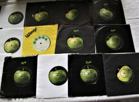 A lot of Apple artists / Beatles and related 45's the demo is by Elephants Memory - some nice
