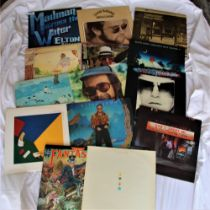 A lot of 14 albums by Elton John - includes some nice early issues