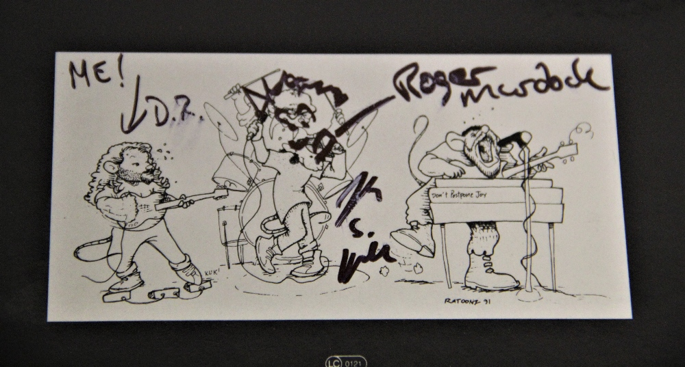 A signed album by underground band King Missle - Image 3 of 3